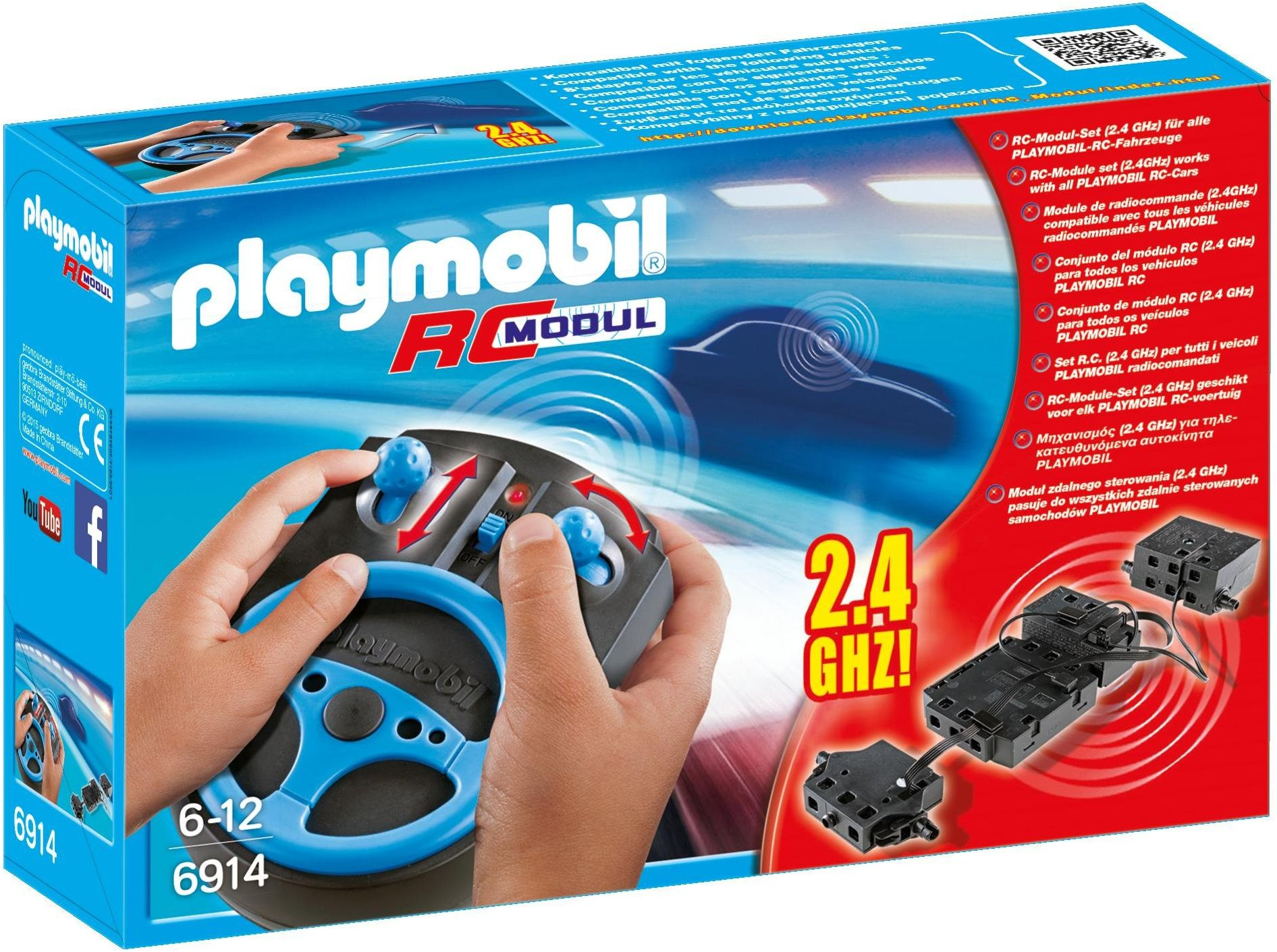PLAYMOBIL City Action 6914 RC Moduł Plus Set, od 6 lat
