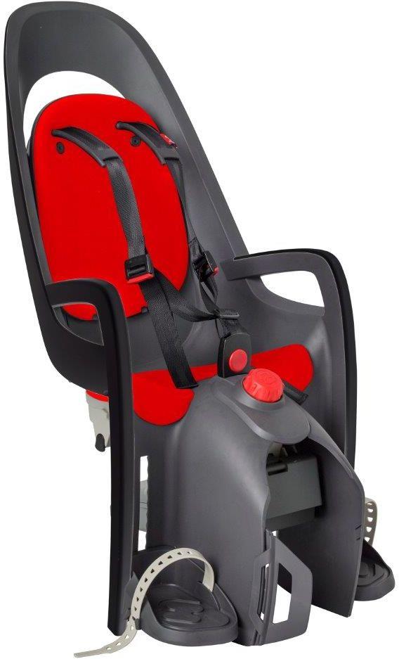 Fotelik rowerowy HAMAX CARESS Adapter na bagażnik red