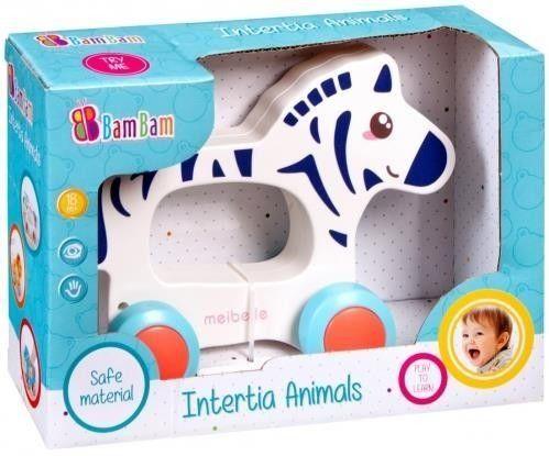 Zebra na kółkach BAM BAM 383728