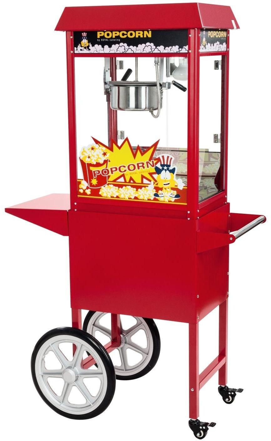 Maszyna do popcornu - wózek - 1600 W - Royal Catering - RCPW-16E - 3 lata gwarancji/wysyłka w 24h