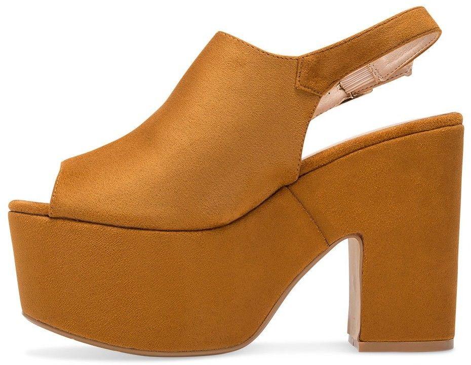 Sandałki damskie Tina''s 8263CA Brązowe