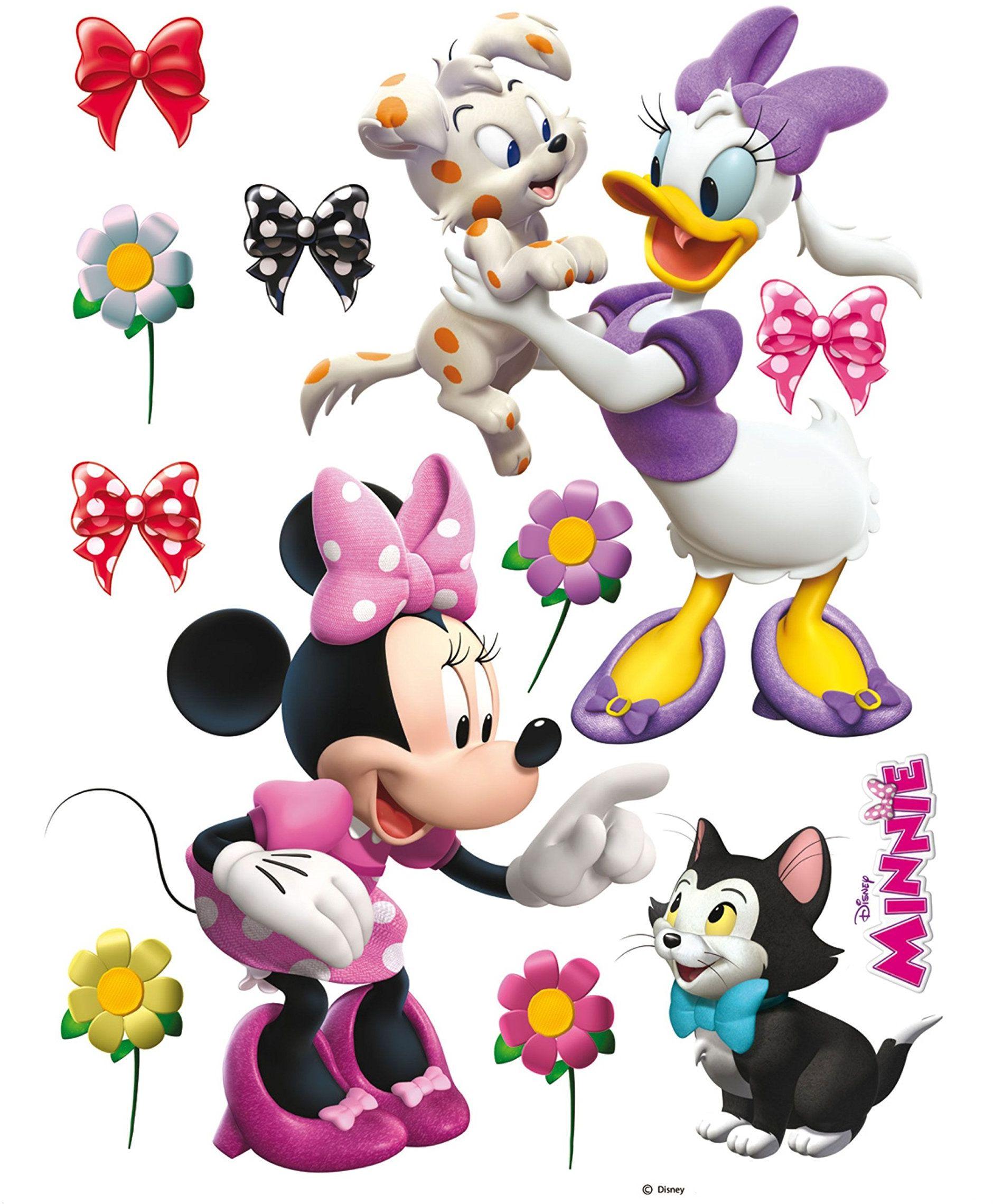Naklejka ścienna DK 1768 Disney Minnie Mouse