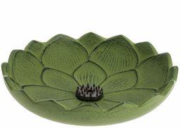 Iwachu Kwiat lotosu stojak na kadzidełka, żeliwo, wielokolorowy, rozmiar uniwersalny