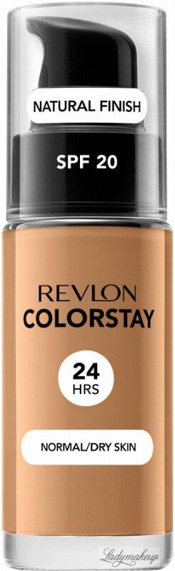 REVLON - COLORSTAY  FOUNDATION - Podkład do cery normalnej/suchej - 30 ml - 400 - CARAMEL