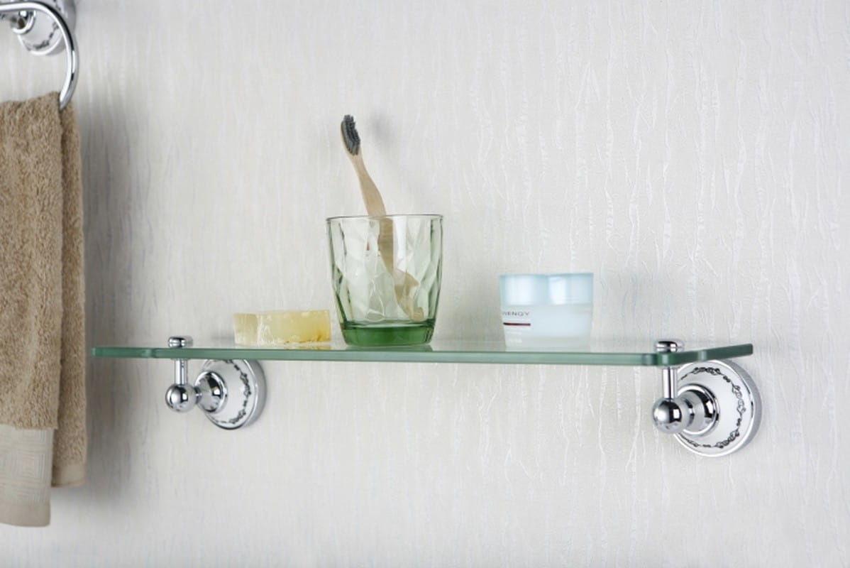 Art Platino Nikolas półka szklana chrom NIK-57083