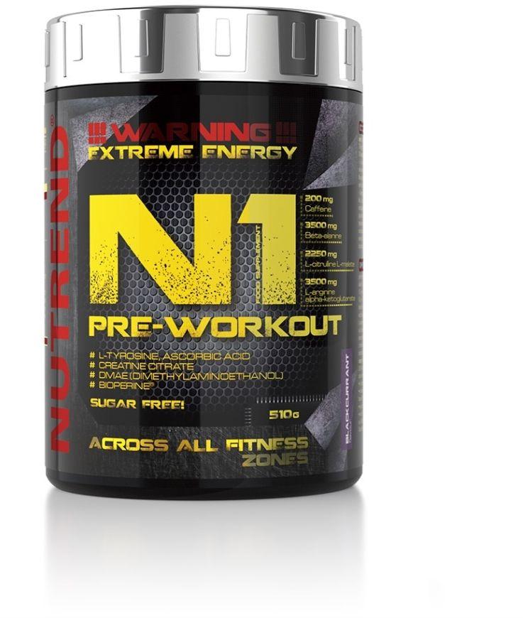 N1 pre workout czarna porzeczk 10x17g