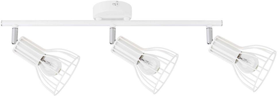 Spot Light 2743302 Megan listwa oświetleniowa metalowa biała klosz koszyk 3xE14 40W IP20 47,5cm