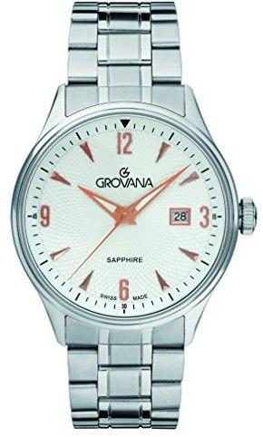 Zegarek Grovana 1191.1128 - CENA DO NEGOCJACJI - DOSTAWA DHL GRATIS, KUPUJ BEZ RYZYKA - 100 dni na zwrot, możliwość wygrawerowania dowolnego tekstu.