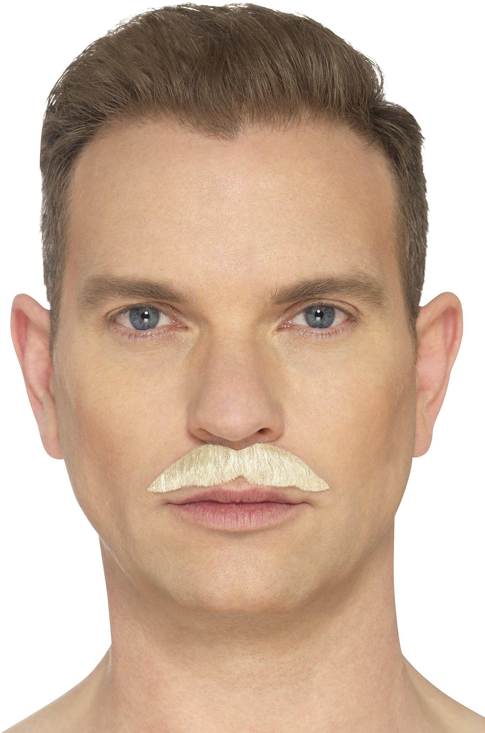 Smiffys 49644 Profesjonalny wąsy, blond, jeden rozmiar