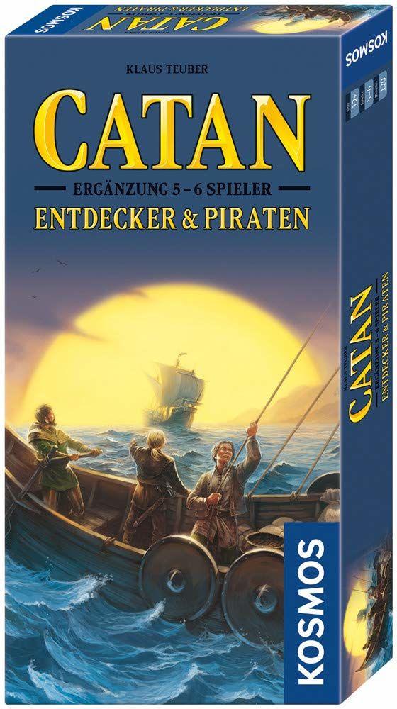 KOSMOS 694111  Catan  odkrywcy i piraci, uzupełnienie dla 5  6 graczy, gra strategiczna