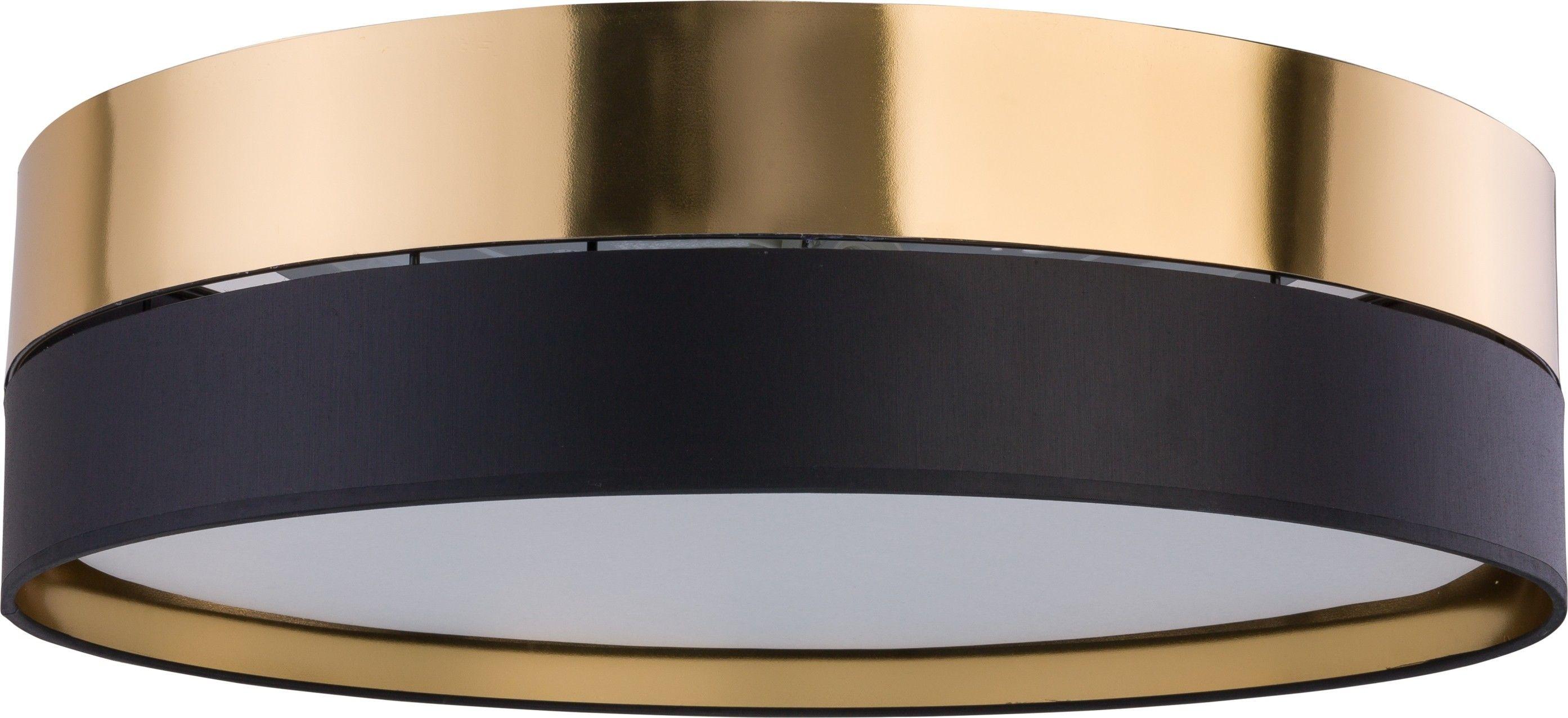 Plafon Hilton czarno złoty 4 punktowy 4345 - TK Lighting // Rabaty w koszyku i darmowa dostawa od 299zł !