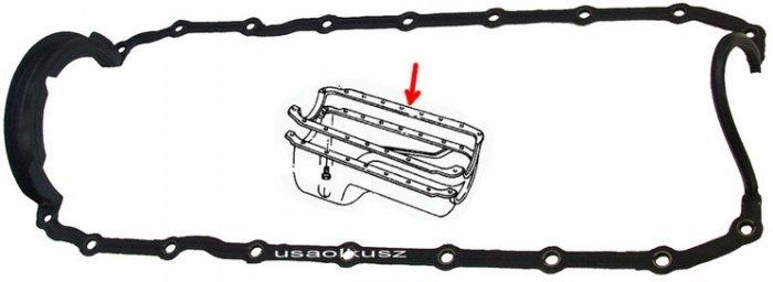 Uszczelka misy olejowej silnika Dodge RAM 5,2