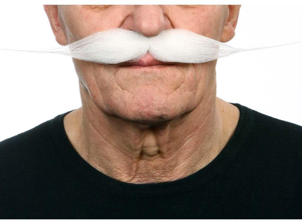 Żywe kostiumy 202853 wąsy, wielokolorowe, jeden rozmiar