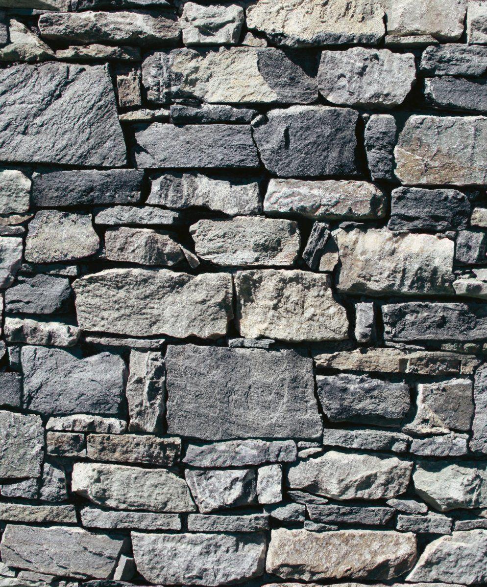 Muriva suchy kamień ściana szara tapeta