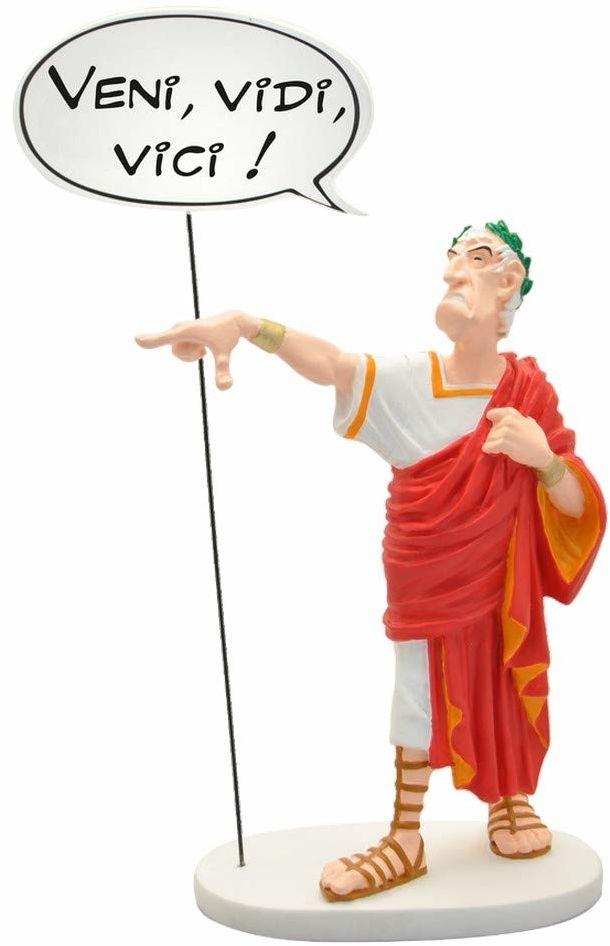 Plastoy SAS 132 - Asterix: Caesar z mączkiem: Veni, Vidi, Vici!