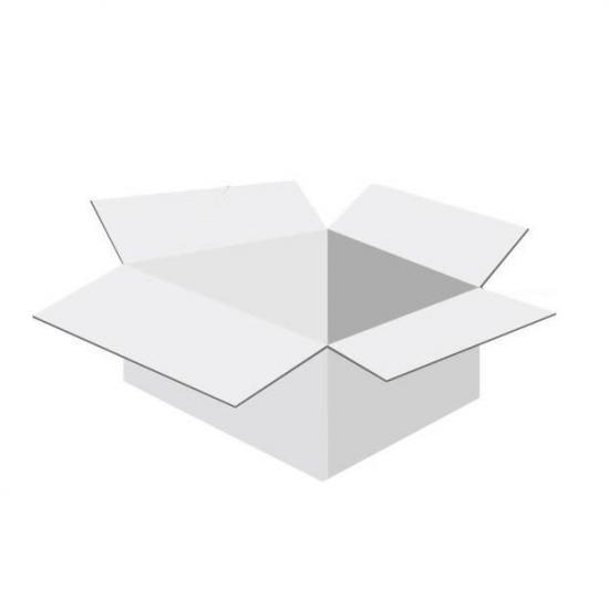 Karton klapowy tekt 3 - 360 x 280 x 180 tektura biała fala B 450g