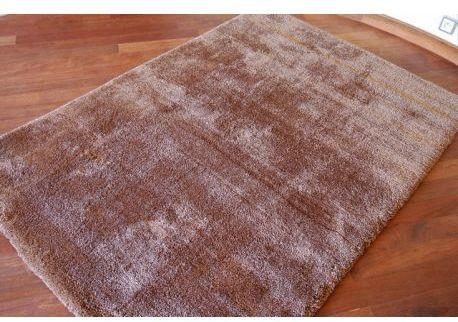 Dywan MICROFIBRA SHAGGY brąz 120x170 cm