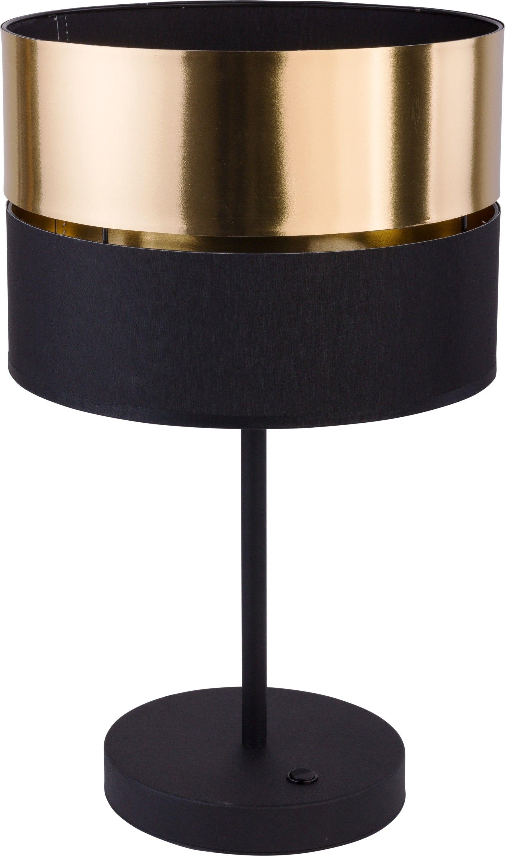 Lampka 1 punktowa Hilton czarno złota 5467 - TK Lighting Do -17% rabatu w koszyku i darmowa dostawa od 299zł !