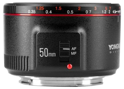 Yongnuo YN 50mm f/1,8 II Obiektyw do Canon EF