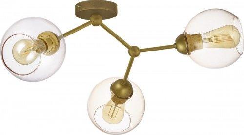 Efektowna lampa sufitowa FAIRY 4371 TK Lighting złota