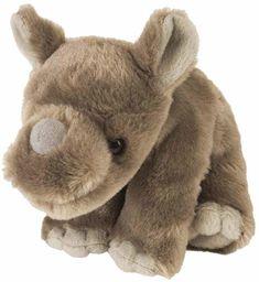 Wild Republic pluszowy nosorożec Baby Cuddlekiny, pluszowe zwierzątko, 20 cm