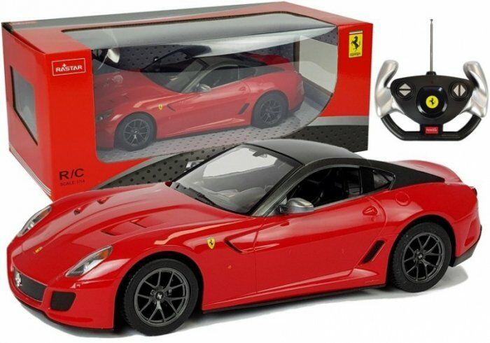 Auto R/C Ferrari 599 GTO Rastar 1:14 Czerwone