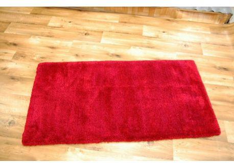 Dywan MICROFIBRA SHAGGY czerwień 70x140 cm