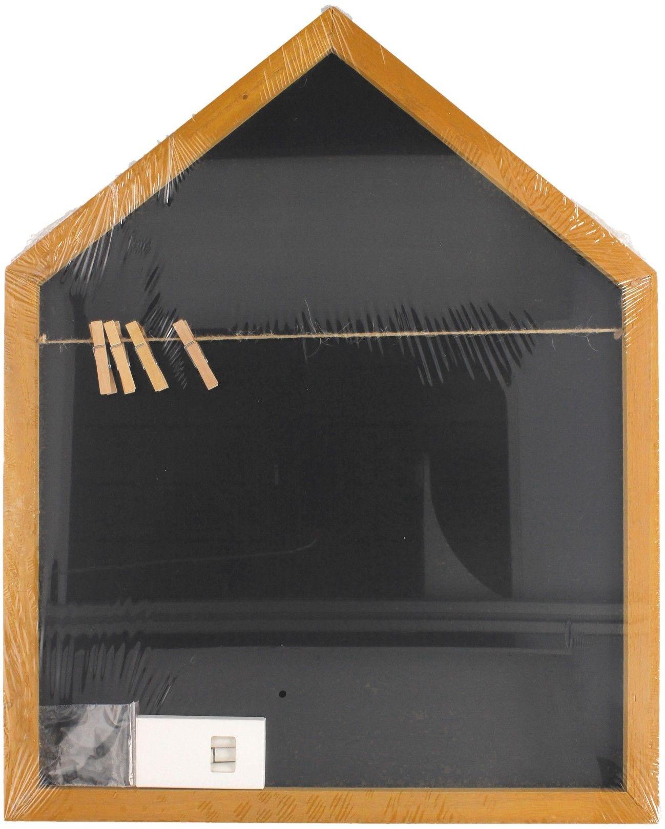Tablica kredowa DOMEK z klamerkami 40x50cm