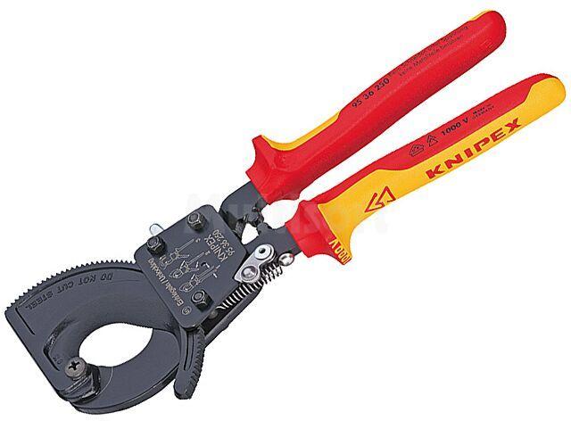 Nożyce KNIPEX do kabli miedzianych i aluminiowych max fi32mm