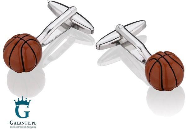 Spinki do mankietów X2 Basketball