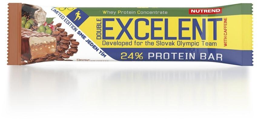Excelent protein double bar with cafeine Brazylijska kawa