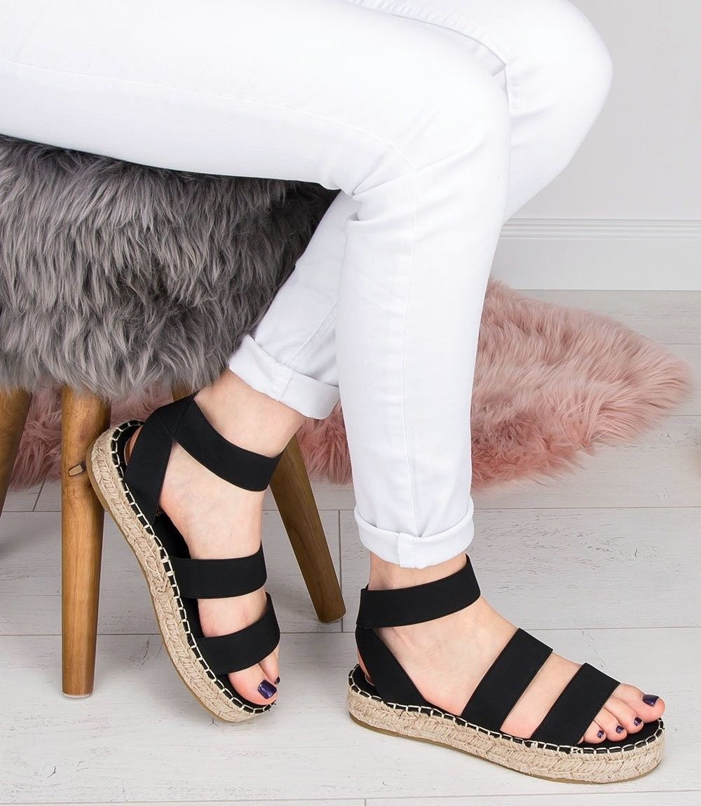 Sandałki damskie Coura 5905 Czarne