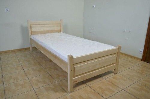 Łóżko drewniane bukowe jednoosobowe Filonek II 90x200