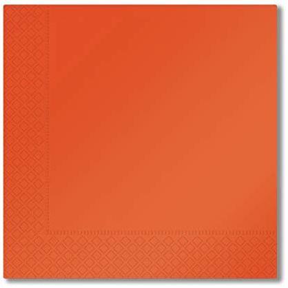 Aristea Serwetki, pomarańczowe, 33 x 33 cm, 40 sztuk, wielokolorowe