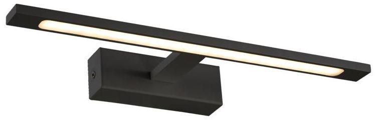 Kinkiet łazienkowy ISLA IP44 40 cm czarny LED LIGHT PRESTIGE