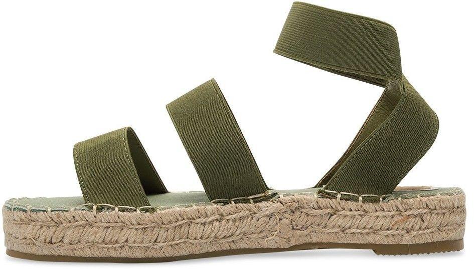 Sandałki damskie Coura 5905 Zielone