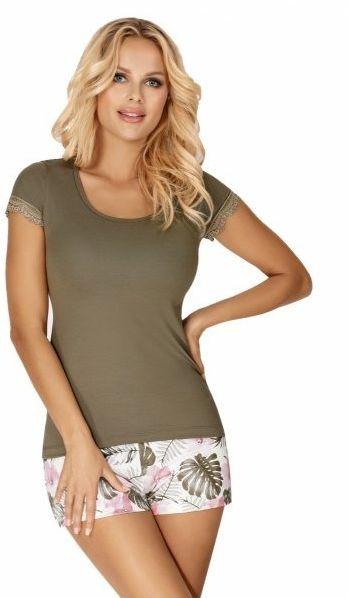 Donna mila 1/2 khaki piżama damska
