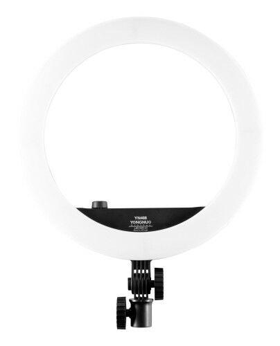 Yongnuo YN408 - WB (3200 K - 5500 K) Lampa pierścieniowa LED