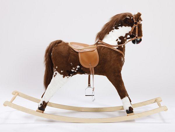 Mega koń na biegunach Remi, zabawka dla sześciolatka