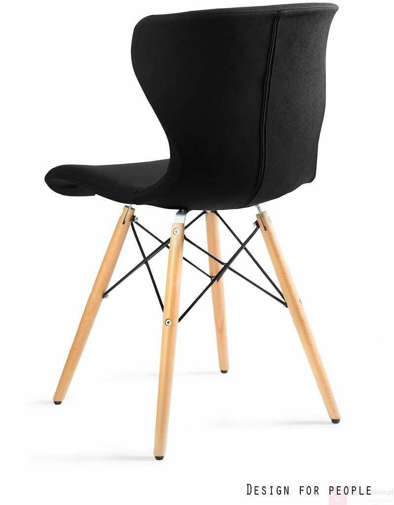 Krzesło SOFT Unique Szary ciemny  RABAT na stronie!