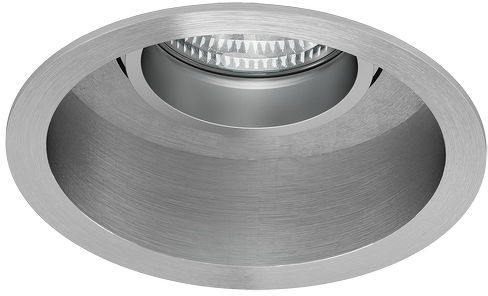 Lampa do zabudowania K/G ESIX kierunkowa aluminium polerowane 230V GU10 50W R10187 - RedLux - Autoryzowany dystrybutor REDLUX