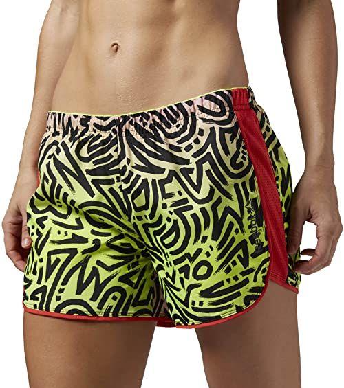 Reebok szorty damskie Running Essentials 4 cale, różowe, XL