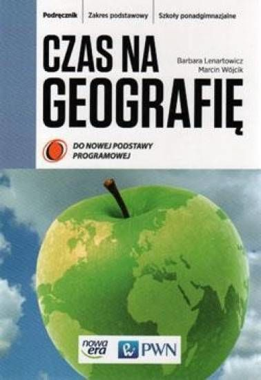Czas na geografię szk.śr-podręcznik