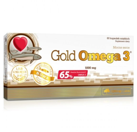 Olimp GOLD OMEGA-3(R)/1000mg - 60 kaps.