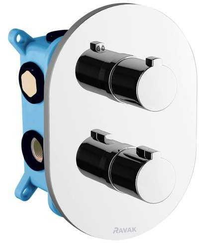 Ravak bateria termostatyczna podtynkowa trójdrożna, do R-Box Multi CR 067.00 X070075