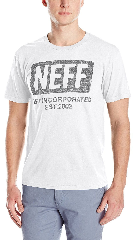 t-shirt męski NEFF NEW WORLD PUSH TEE WHITE