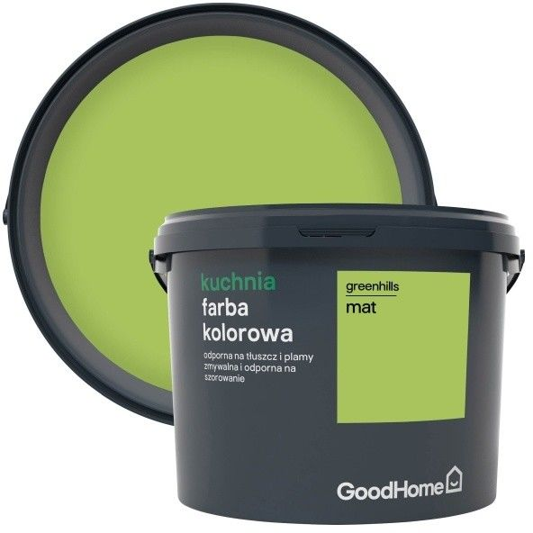 Farba GoodHome Kuchnia greenhills 2,5 l