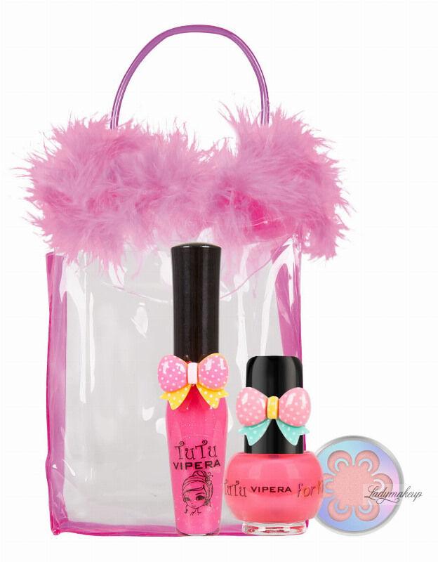 VIPERA - Tutu Set - Zestaw prezentowy kosmetyków dla dzieci w kosmetyczce - 21