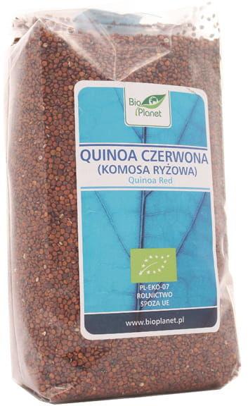 Quinoa czerwona - komosa ryżowa BIO - Bio Planet - 500g