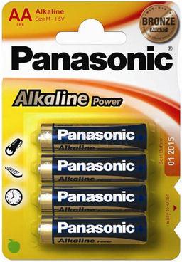 Baterie alkaliczne Panasonic Power LR6 AA 4 sztuki